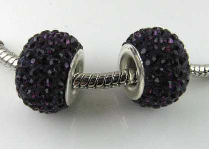 Multistrass a foro largo Amethyst
