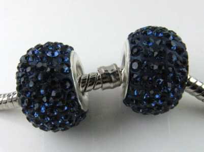 Multistrass a foro largo Capri Blue