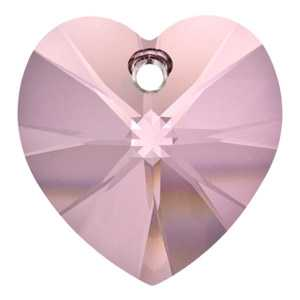Ciondolo a cuore Crystal Antique Pink