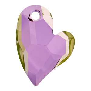 Devoted 2 U Heart Crystal Lilac Shadow  Hover