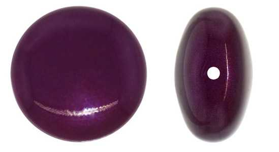 Perle Swarovski Big Coin Blackberry