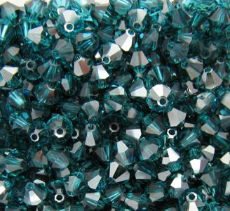 Blue zircon satin