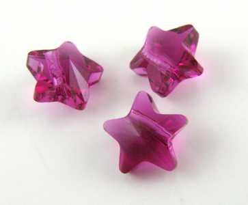 Star Bead Fuchsia