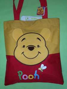 Shopper in tessuto Winnie The Pooh   Hover