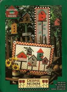 Backyard bird houses Debbie Mumm