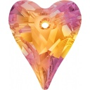 Wild heart pendant Astral Pink