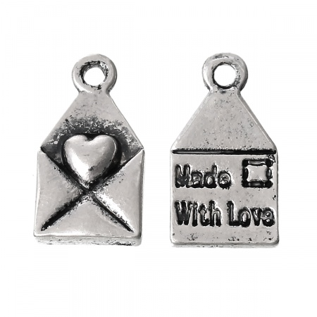 Charm Lettera Made with love  Hover