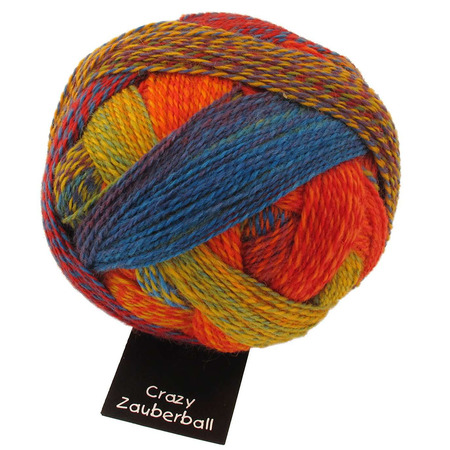 Crazy Zauberball colore 1702 Papillion