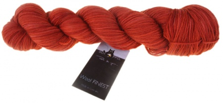 Schoppel Wolle Wool Finest colore 2277 Rosso papavero