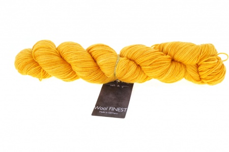 Schoppel Wolle Wool Finest colore 2347 Giallo ambra