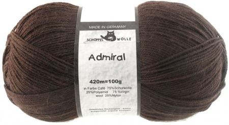 Schoppel Wolle Admiral colore 7705  Coffee