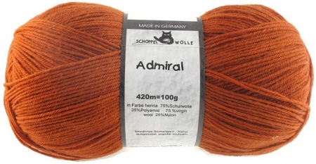 Schoppel Wolle Admiral colore 0803 Zucca