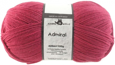 Schoppel Wolle Admiral colore 2681 Rosa