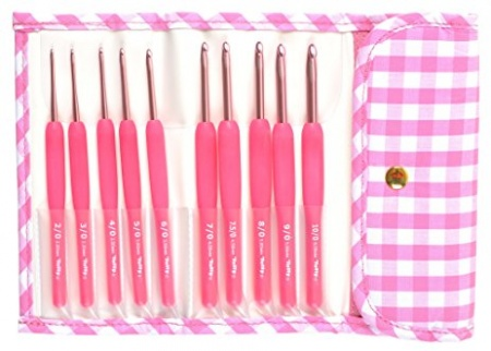 Set Uncinetti Tulip Pink Etimo Candy