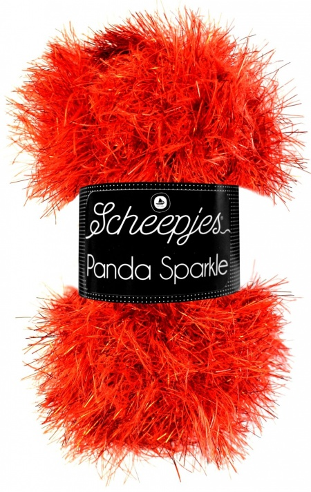 Scheepjes Panda Sparkle Dark Red