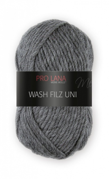 Wash Filz Juicy Pro Lana da infeltrire colore 195 grigio scuro