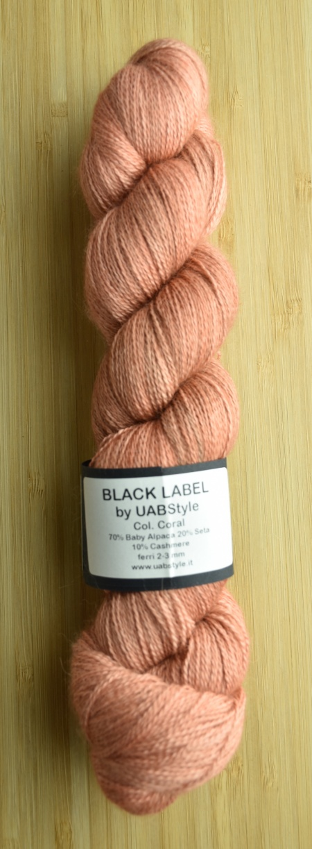 Black Label Cashmere UABstyle Colore Coral
