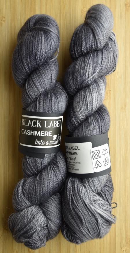 Black Label Cashmere UABstyle Colore Steel