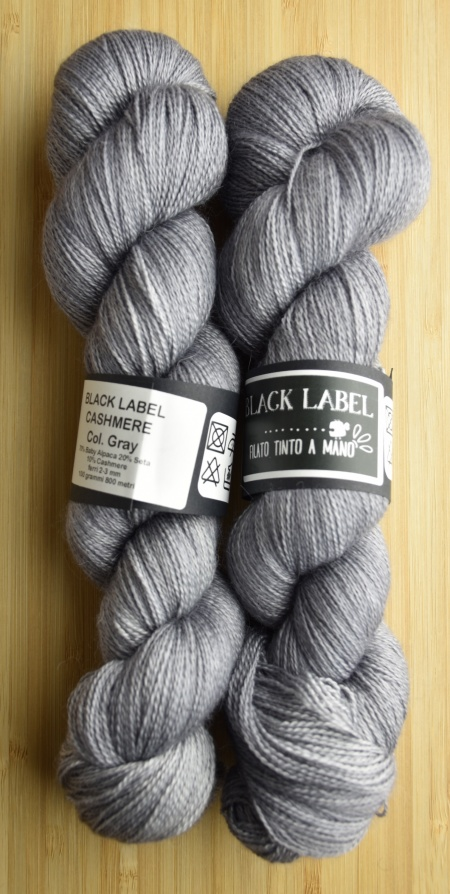 Black Label Cashmere UABstyle Colore Gray